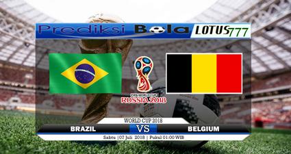 Prediksi Bola Hari Ini Brazil Vs Belgium 7 Juli 2018