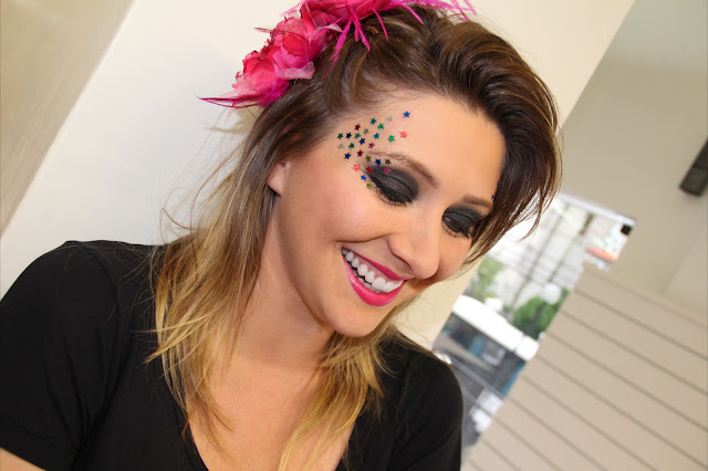 Resultado de imagem para maquiagem simples para o carnaval