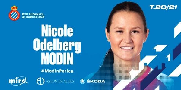 Oficial: Espanyol Femenino, firma Nicole Odelberg
