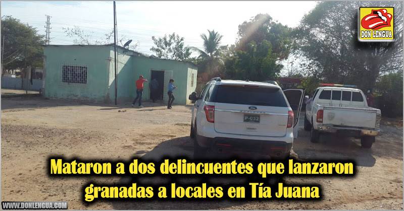 Mataron a dos delincuentes que lanzaron granadas a locales en Tía Juana