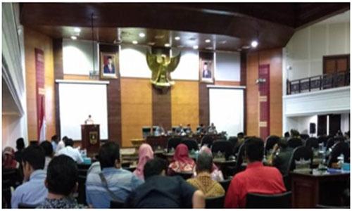 Masa Sidang Ketiga 2019, DPRD Sumbar Catatan Strategis Kepada Pemerintah Daerah