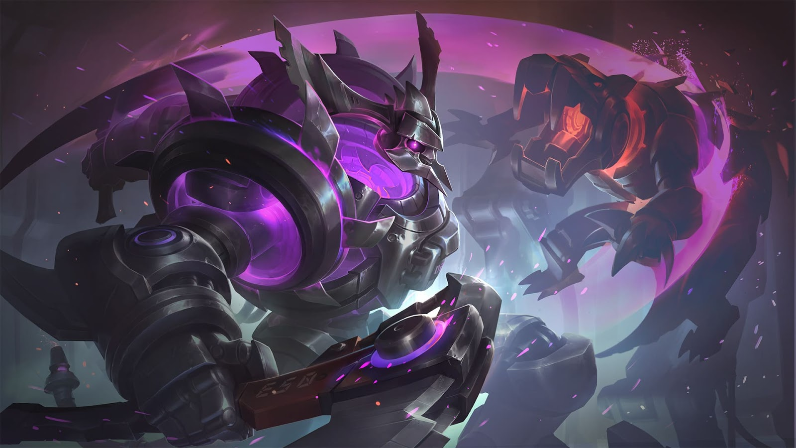 Wallpaper Thamuz Abyssal Reaper Skin Mobile Legends Full HD for PC