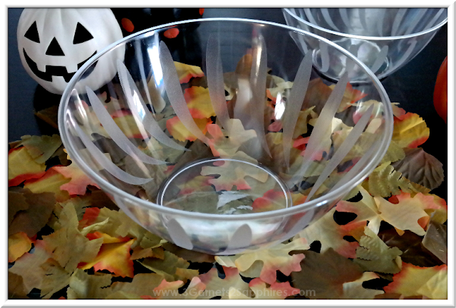 How to Make a Fun Halloween Candy Bowl Centerpiece  |  3 Garnets & 2 Sapphires