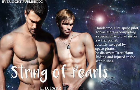 Be teased #MMromance preview String of Pearls, Tobias could hardly breathe. His moans matched the delectable movements of his companion's tight wet mouth @parr_books @evernightpub