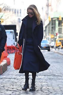 Doutzen Kroes Out At New York Fashion Week 2018