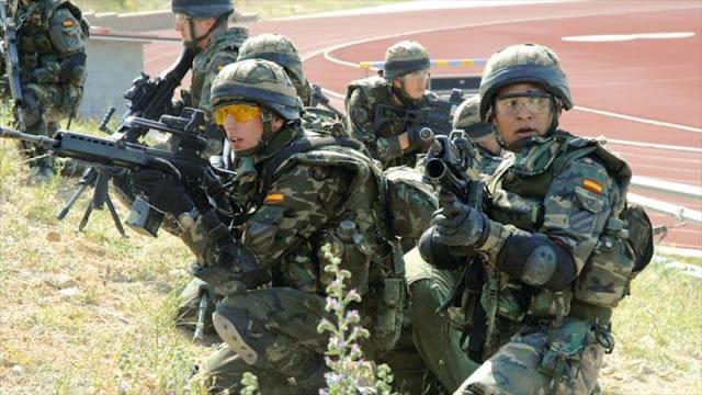 300 militares españoles se unen a batallón de OTAN cerca de Rusia