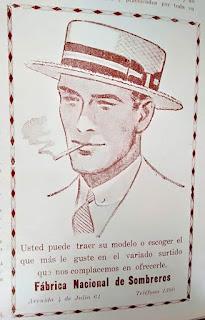 El famoso sombrero de galleta.