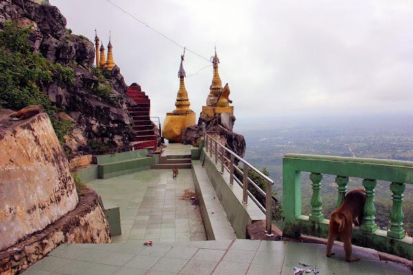 Mirador del Monte Popa (Bagan)