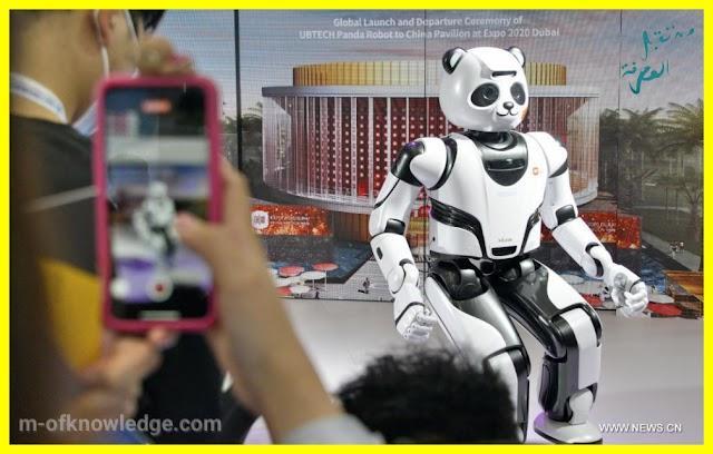روبوتات رائعة و مميزة في مؤتمر الروبوت العالمي في بيكين 2021