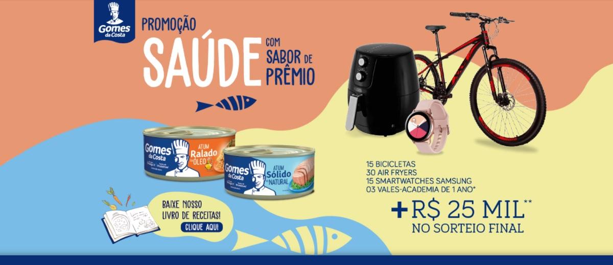 Promoção Saúde Sabor de Prêmios Gomes da Costa 2021