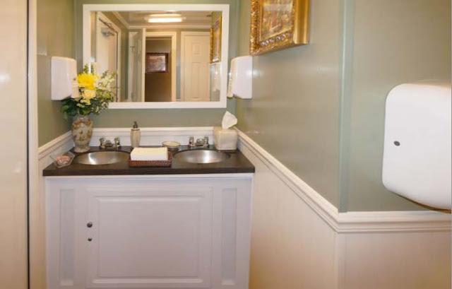 Restroom Vanity Mirror