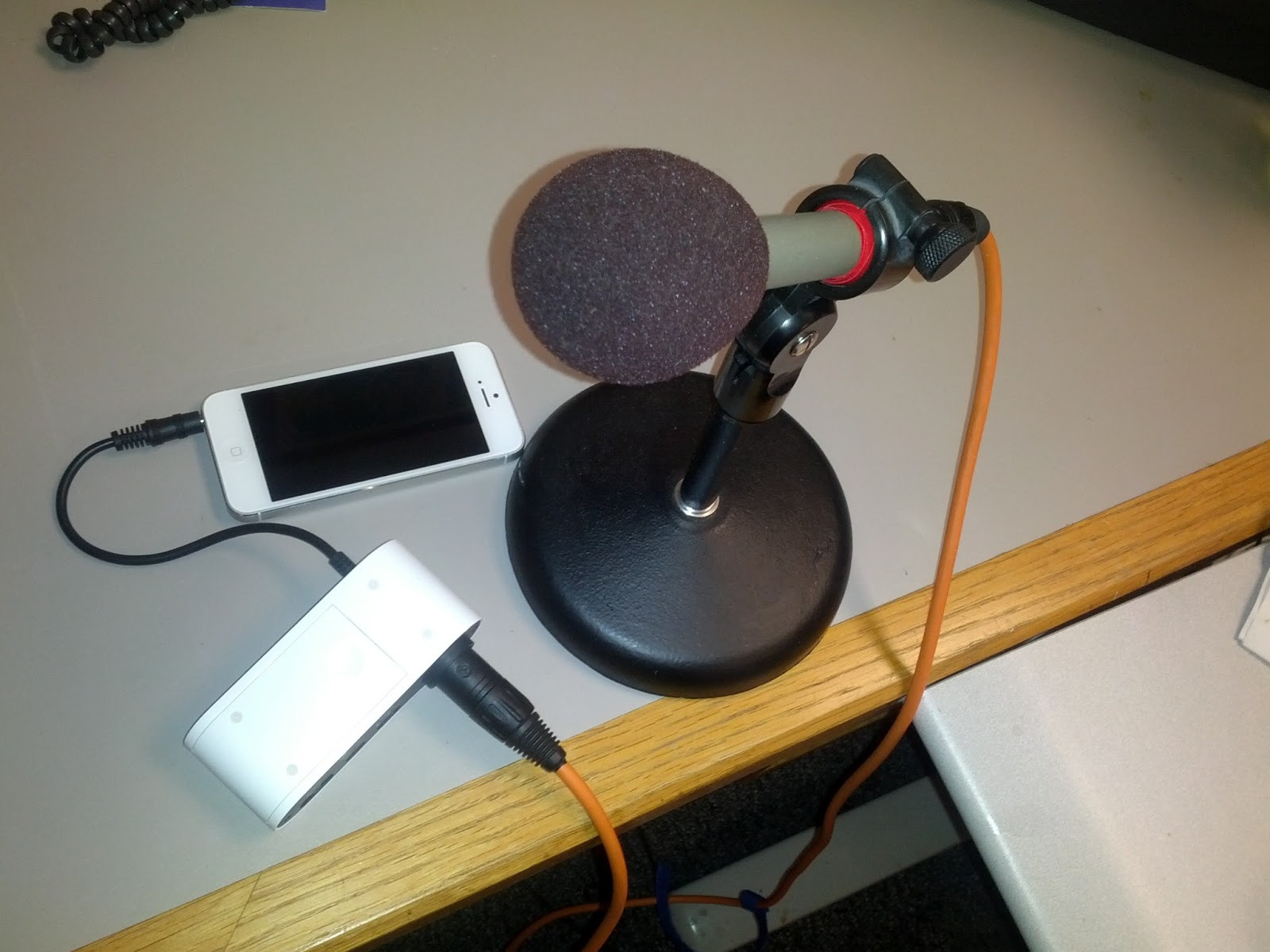 Battery Powered Mic Preamp