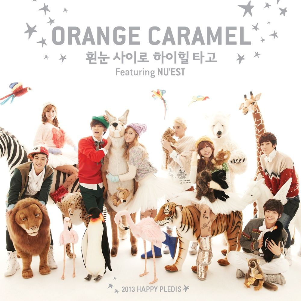 ORANGE CARAMEL, NU`EST – Dashing Through The Snow on High Heels – Single