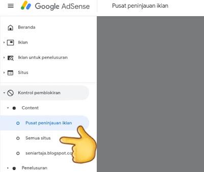 Cara Memblokir Iklan CPC minim Terbaru di Adsense URL