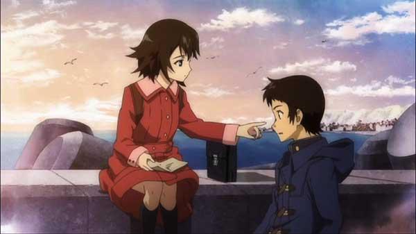 True tears - Anime romance perempuan pendek lelaki tinggi