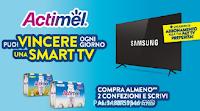 """Concorso Actimel """"+ Forti Insieme"""" : vinci Smart TV Led 55"""" e abbonamenti annuali a pay TV"""