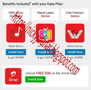 AIRTEL SIMAH 5GB INTERNET DATA DAWNG THEIH DAN - Nicky Jr Fanai