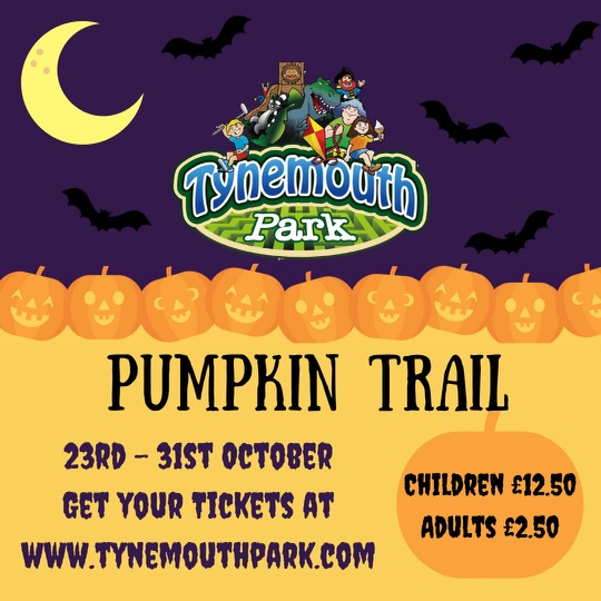 North East Halloween Events 2021  - Tynemouth Park