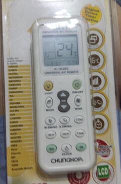 HomeMade DIY HowTo Make: Cheap Chunghop K-1028E a/c (air conditioner
