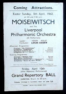 Liverpool Philharmonic Orch, Louis Cohen