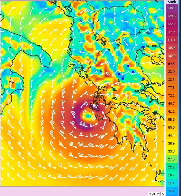 2 - Πρόγνωση Ελλάδας-Θεσσαλίας 17-18/9/2020 (+χάρτης βροχής)