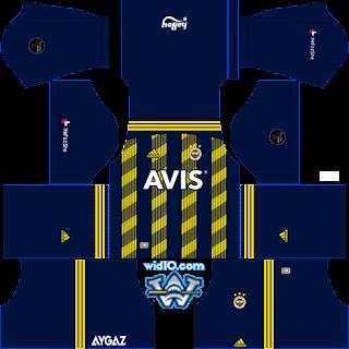 Fenerbahçe 2019-2020 DLS/FTS Dream League Soccer Forma Kits ve Logo