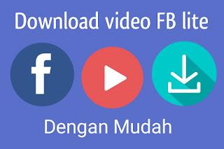 Cara gampang download Video di FB lite Tanpa apk Cara gampang download Video di FB lite Tanpa apk/software