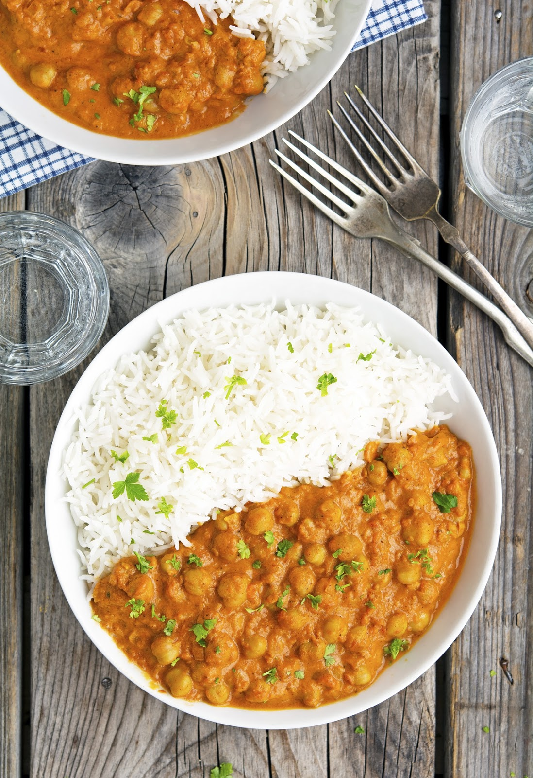 Vegan easy chickpea tikka masala the iron you bloglovin heres the lowdown about this dish rich spicy curry delicious thats it so good you might even say that this chicken tikka masala is fleek forumfinder Choice Image