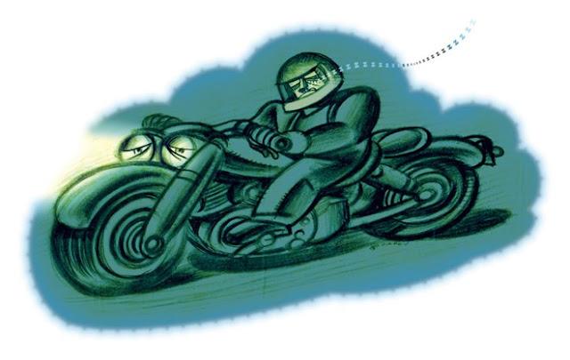 """Những mẹo nhỏ giúp các Biker """"chiến"""" đường dài"""