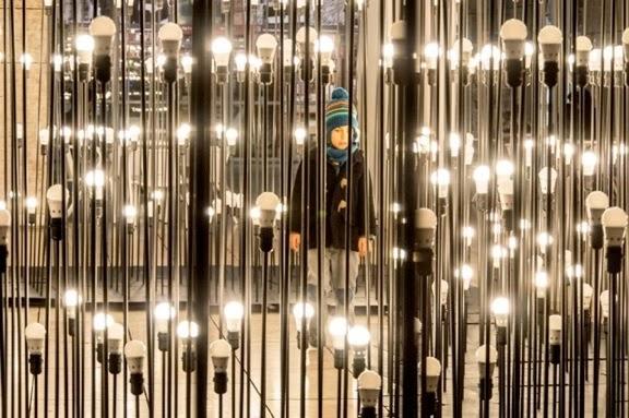 Led Strip Lights Ikea Promotes Bulbs With Stunning Art