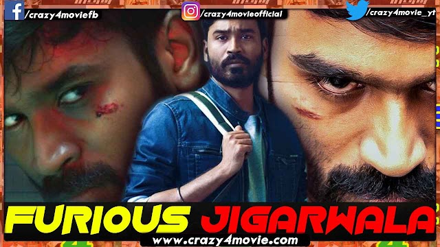 Furious Jigarwala Hindi Dubbed Full Movie | Dhanush Enai Noki Paayum Thota In Hindi