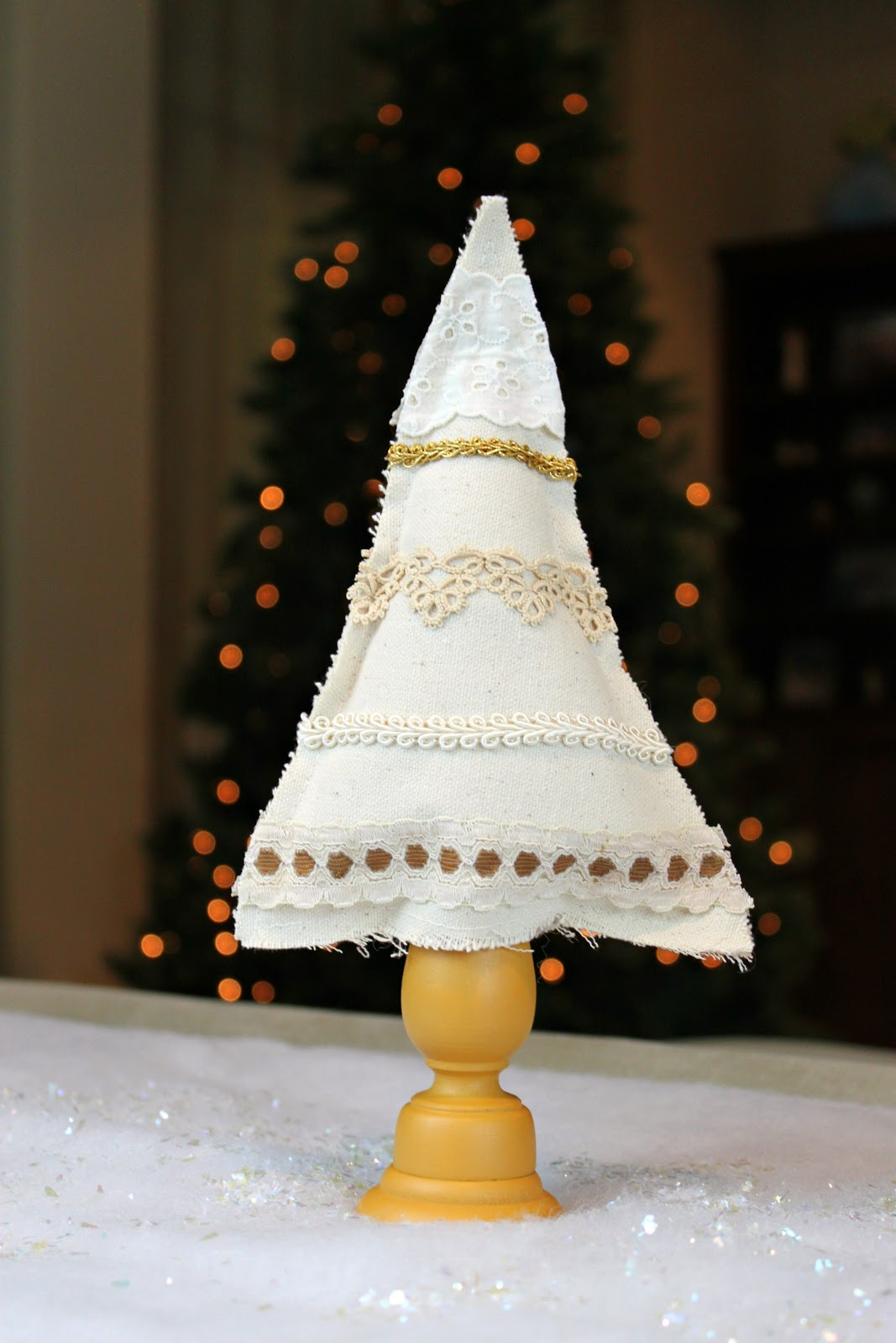 morena's corner: Shabby Chic Christmas Trees: Canvas and ...