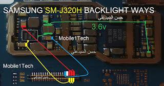 Solução J3 J320H não acende Leds do LCD Backlight    Samsung J3 J320H Backlight Solution
