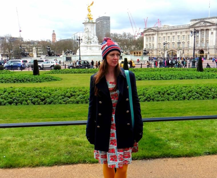 Cath Kidston Bus Printed Dress And Bag
