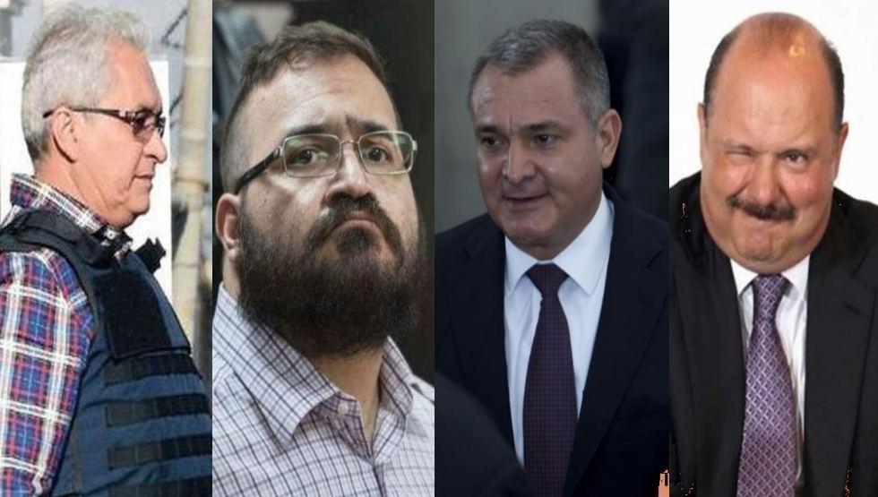 Narcopolítica en México ... Estos son los 11 ex funcionarios investigados en EU por nexos con el narco