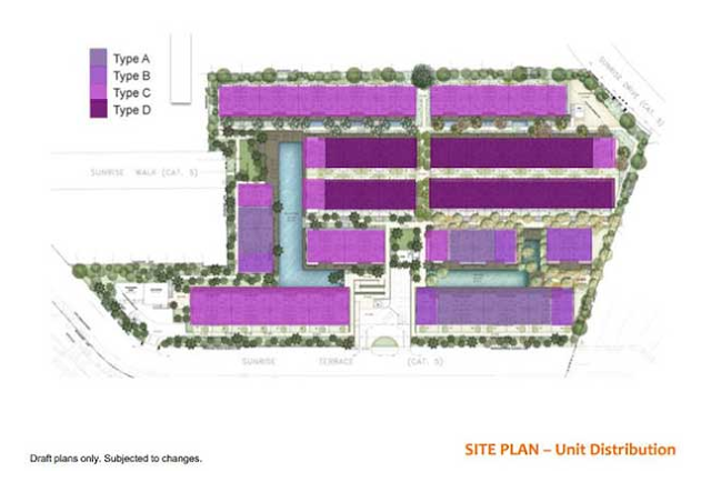 Alana @ Sunrise Terrace Site Plan