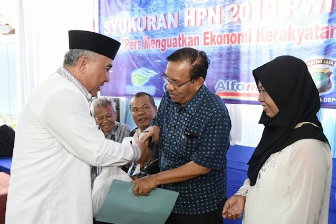 Walikota Minta Wartawan Tingkatkan Kompetensi