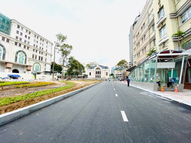 Ga Nhà hát Thành phố - tuyến metro số 1