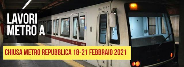 Metro A chiude Repubblica