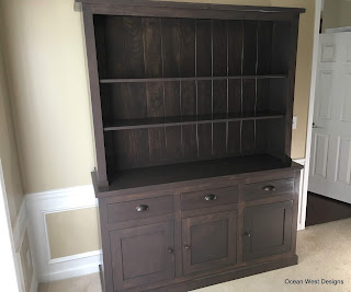 """NAPA VALLEY"" French Buffet Hutch"