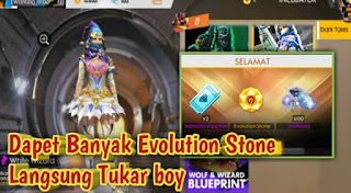 Cara Mendapatkan Evolution Stone FF