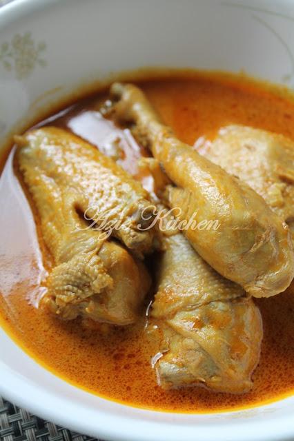 Sebelum saya meneruskan coretan potongan resepi Kari Ayam Kampung Yang Sedap
