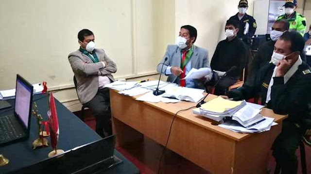 """Policías sentenciados a prisión por desacatar """"alerta absoluta"""" en cuarentena en Cajamarca"""
