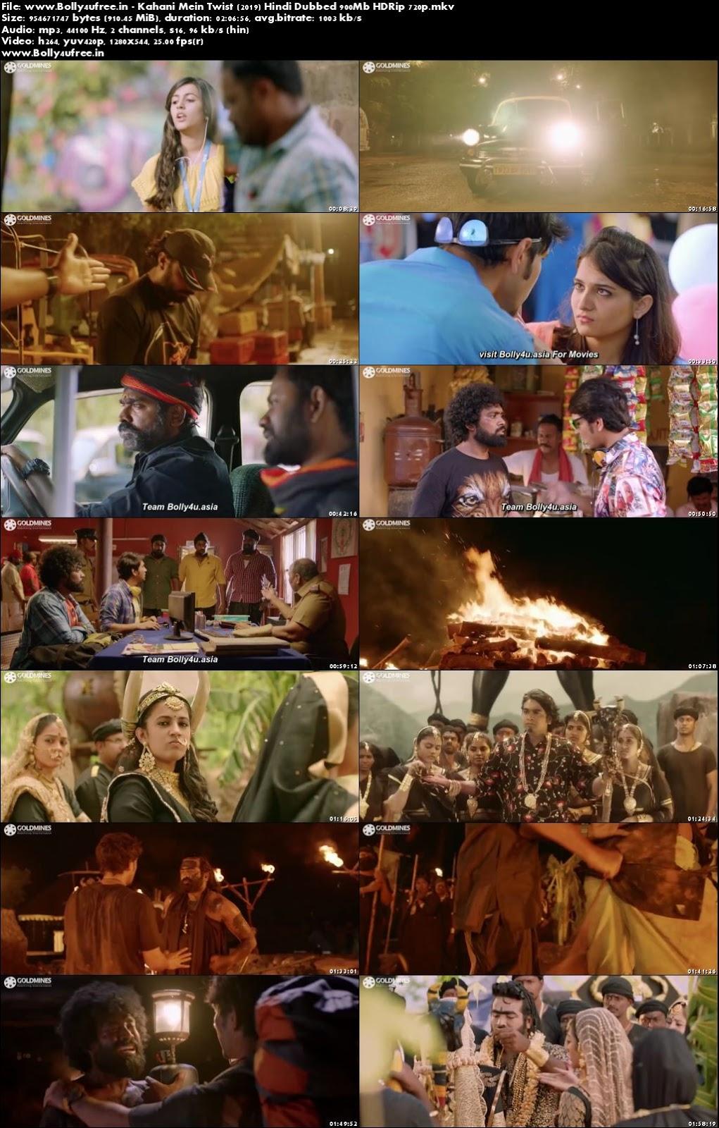 Kahani Mein Twist 2019 Hindi Dubbed 300Mb HDRip 480p