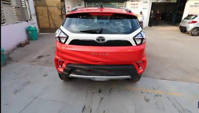 Tata Nexon Facelift rear