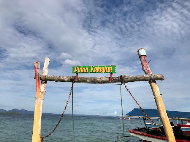 Kelagian Besar Island, Lampung, Indonesia