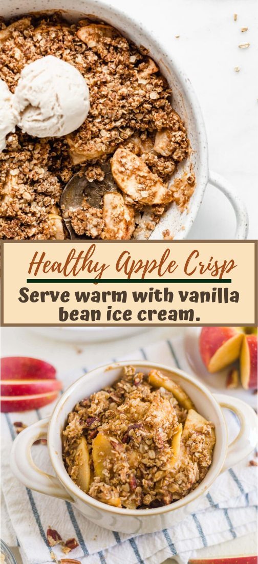Healthy Apple Crisp #desserts #cakerecipe #chocolate #fingerfood #easy