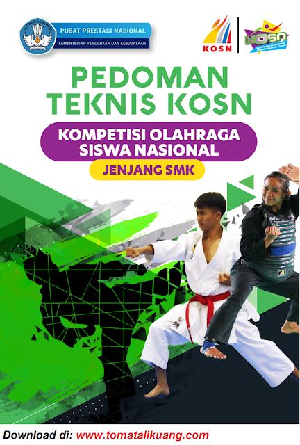 juknis pedoman o2sn kosn smk tahun 2020 daring online pdf tomatalikuang.com