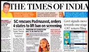 Times Of India epaper and archives