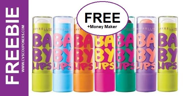 Maybelline Baby Lips CVS Freebie 3-22-3-28